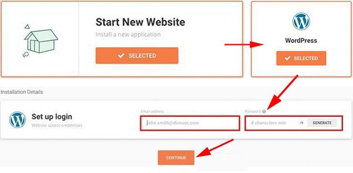 WordPress blog installeren met siteground